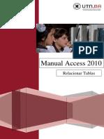 3 UTN FRBA Manual Access 2010 Relacionar Tablas