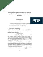 Teoremas de Demostracion de Limites