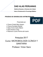 Sensibilidad Antimicrobiana