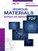 Nanoporous Materials Synthesis and Applications