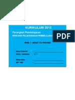 [4] RPP SD KELAS 5 SEMESTER 1 - Sehat Itu Penting.doc