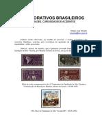 Comemorativos Brasileiros Variedades Curiosidades e Acidentes