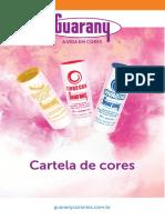 Cartela Cores Guarany