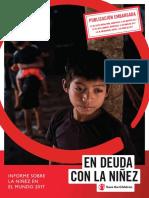 Informe Sobre La Niñez en El Mundo 2017 Save the Children