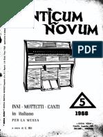 Canticum Novum - 1968 - 5