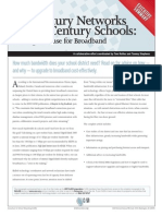 21st Century Networks for 21st Century Schools