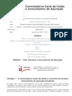 Módulo I - Controladoria Geral Da União_ Estrutura e Instrumentos de Apuração