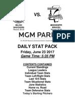 6.23.17 vs. MIS Stat Pack