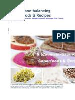5 Hormone Balancing Superfoods
