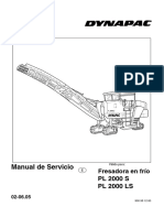 Dynapac PL2000S - Manual de Servicio