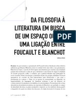 05 Uma Ligação Entre Foucault e Blanchot