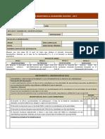 Ficha de Evaluacion Del Desempeño Docente 2017