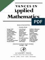 Advances in Applied Mathematics Vol 001