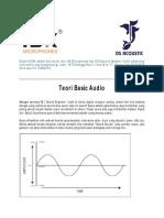 Teori Basic Audio