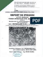 Raport de Evaluare Activ Imobiliar Teren Intravilan Strada Bacriului