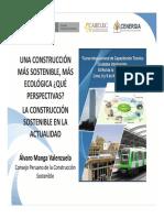10 Una Construcción Más Sostenible, Más Ecológica, La Construcción Sostenible en La Actualidad - Álvaro Manga Valenzuela