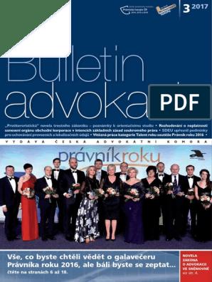 Peliculas porno de ivana alenov Bulletin Advokacie 2017 03