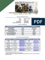 Guild Wars 2 Fact File