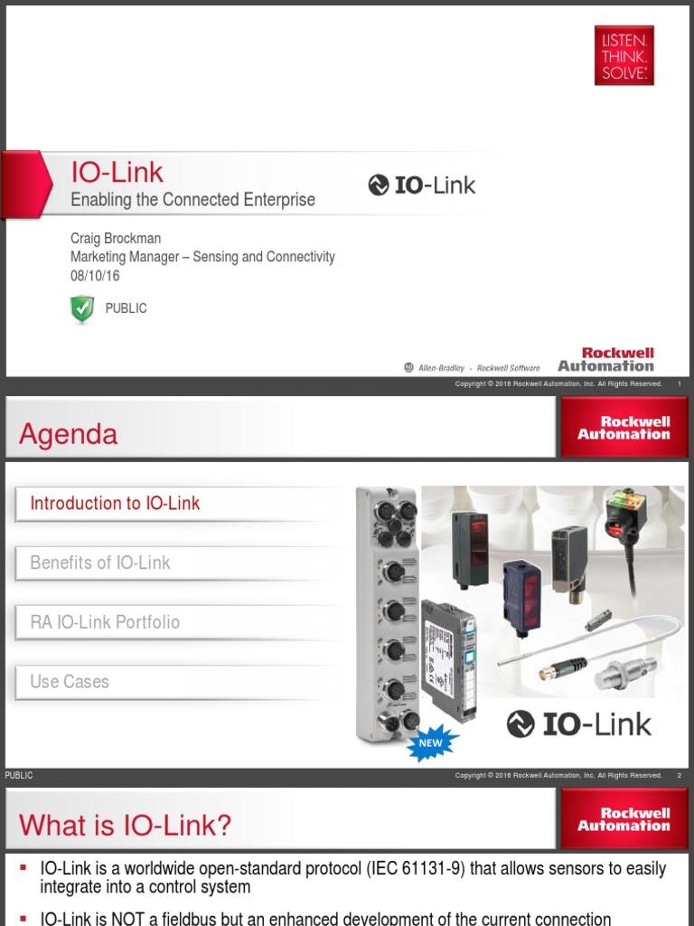 Smart Sensors and the Connected Enterprise Webinar
