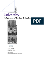 DPD - U District Design Guidelines