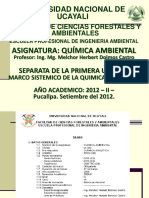 Unidad i .-Quimica Ambiental
