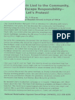 Green Anti-Chin NMASS Flyer