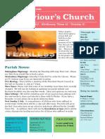 st saviour newsletter 25 june 2017  ot12trin2