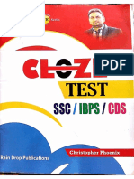 Cloze Test Book