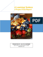 world learning meal project final report