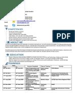 Curriculum Vitae (Mohammed YOUSIF) 24062017
