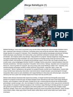 Indoprogress.com-Politik Emansipasi Warga Nahdliyyin 1