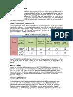 Análisis de La Oferta (1)
