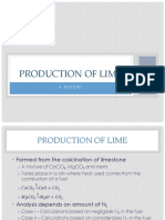 Production of Lime Clean