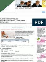EJERCICIOS CONTABLES RESUELTOS COMPRA Y VENTA BIEN EXPLICADOS | CONTADURIA PUBLICA COLOMBIA