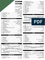 C550 Checklist
