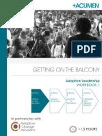 Adaptive Leadership - Workbook 1