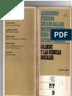 Gramsci, Antonio y Otros - Gramsci y Las Ciencias Sociales, Ed. Pasado y Presente, 1972