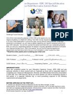field observation packet pdf edu203