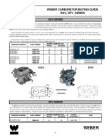 Weber Carb Buyers Guide