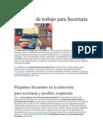 Entrevista de trabajo para Secretaria.docx