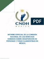 Informe Especial, Cndh