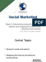 Marketing Social y Su Investigación