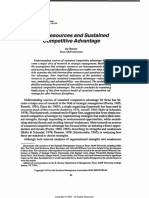 Barney, J.B., 1991. Firm Resources and Sustained Competitive Advantage..pdf