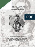 De LASSUS Orlando - Lagrimas de San Pedro