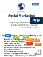 Marketing Social y Su Planificación