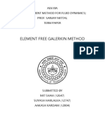 Element Free Galerkin Method