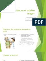 Vacunación en El Adulto Mayor