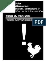 Teun A. Van Dijk La Noticia Como Discurso.pdf