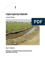 Irrigation Engineering Principles