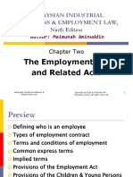 Chapter 2 - The Employment Act and Related Acts